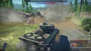War Thunder. lorraine 40t - реализация барабана (-4 танка в начале боя)