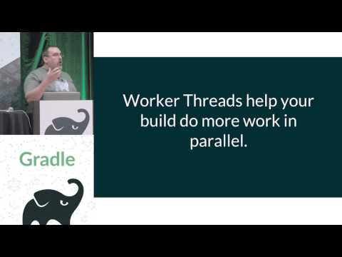 Gradle Summit 2017 - Re envision build execution with the Gradle Worker API - Paul Merlin, Gary Hale