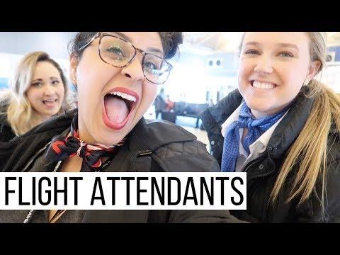 Bad Turbulence 👩🏻✈️ |  Flight Attendant Life  |  VLOG16, 2018