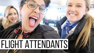 TURBULANCE 👩🏻✈️ |  Flight Attendant Trip  |  TRAVEL VLOG 16, 2018