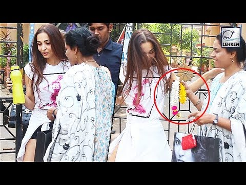 Malaika Arora IRRITATED After Fan FORCES Her To Take Gajra | LehrenTV Mp3