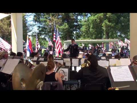 Armed Forces On Parade, 191st Army Band, Memorial Day