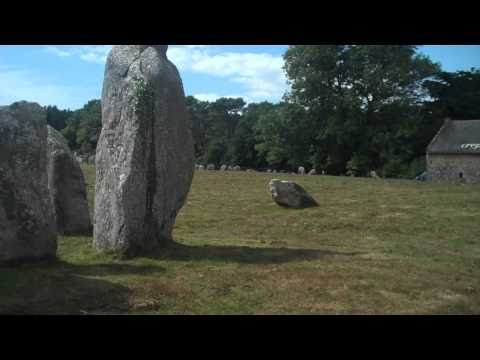 The Megalithic Alignments of Carnac in Brittany.mov