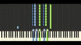 Chopin - Prelude Op. 28 No. 17 - Piano Tutorial - Synthesia