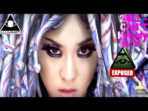 2NE1 - CAN'T NOBODY (English Ver.) M/V Illuminati Exposed