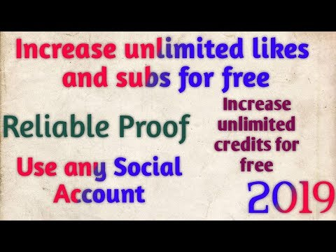 Get Unlimited Social Likes