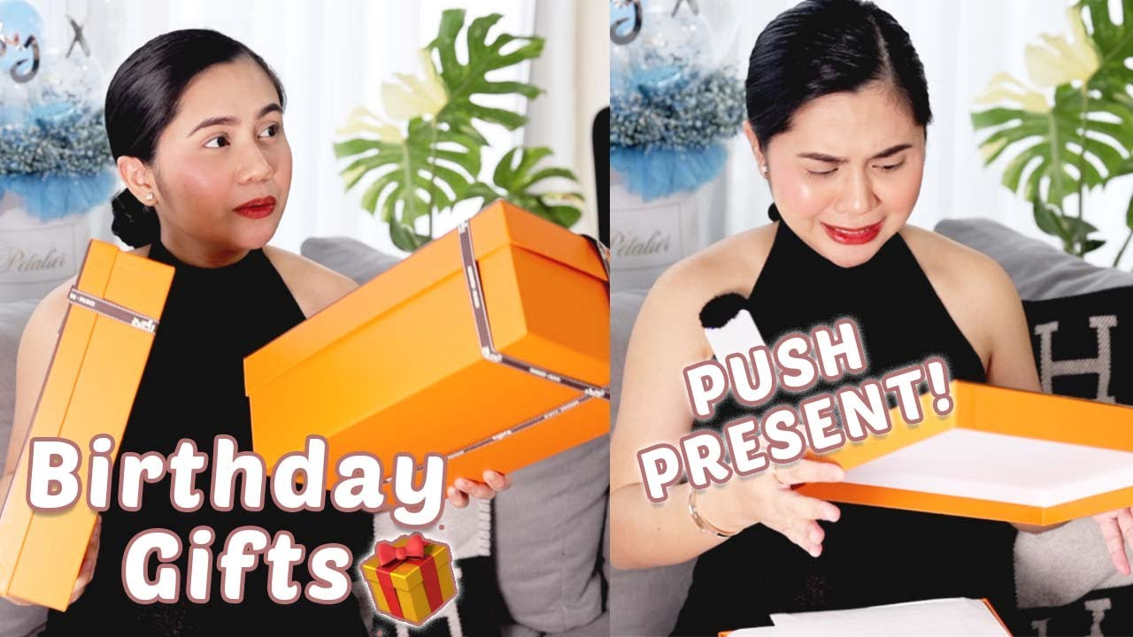 ANONG PUSH PRESENT? + Birthday Gift Unboxing   Anna Cay ♥