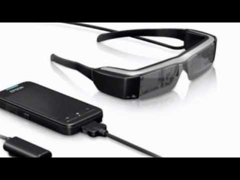 Best Buy Epson Smart Glass Virtual Video Head-mounted display MOVERIO BT-200 Immersive 3D
