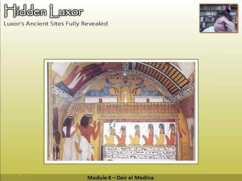 Hidden Luxor - Deir el Medina Workman's Village: Module 8 #thisisegypt