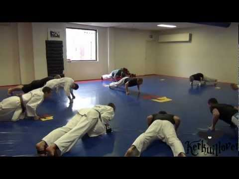 Ashihara Karate Padtraining O.l.v. Sensei Peter Boer