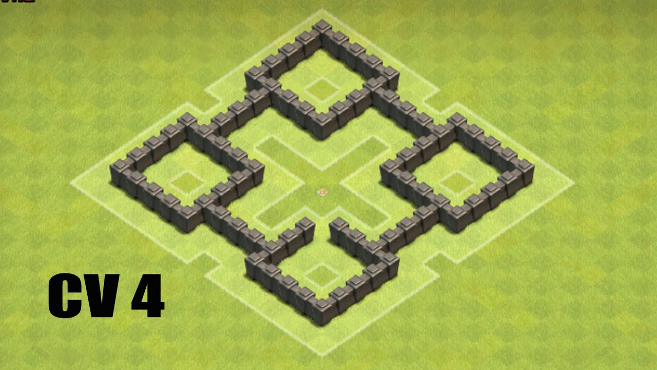 clash of clans cv 4 layout farm - Layout Cv 4 Clash Of Clans
