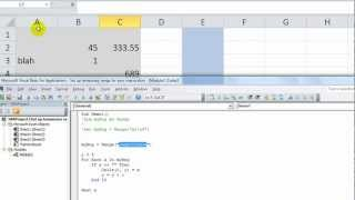 Excel VBA Tips n Tricks #5a Fill a List From Non-Blank Cells - Going Down OR Over with NAMED RANGE