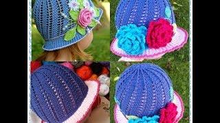 Little Girls Cloche Hat Part 1
