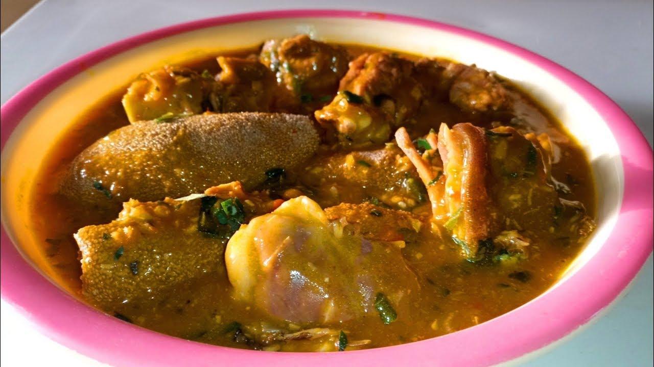Achi Soup Recipe: How to Prepare Achi Soup- Nigerian Dishes