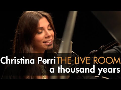 Christina Perri - A Thousand Years captured in The Live Room
