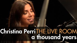 christina perri a thousand years captured in the live room