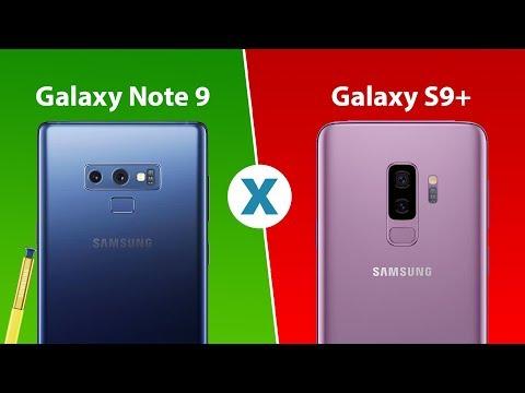 Samsung Galaxy Note 9 vs Samsung Galaxy S9+   Comparativo Tecnoblog