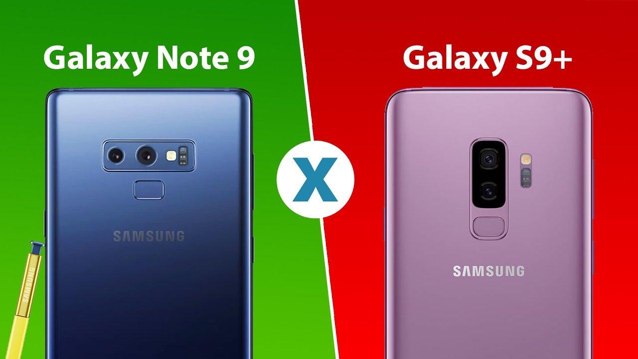 Qual a diferença entre o Galaxy Note 9 e o Galaxy S9+? – Celular