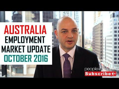 Australia Employment Market Update - October 2016