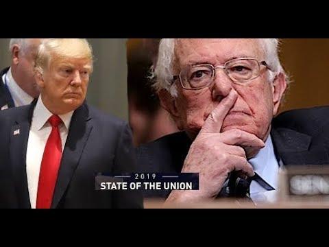 """Trump hunde a Bernie Sanders en su asiento: """"ESTADOS UNIDOS JAMÁS SERÁ SOCIALISTA"""""""