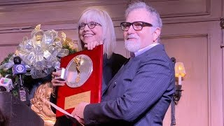 Theater Talk's Haskins-Doloff & Green at the NY NATAS Silver Circle Ceremony