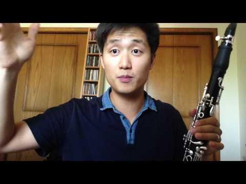 clarinet extended techniques: glissando