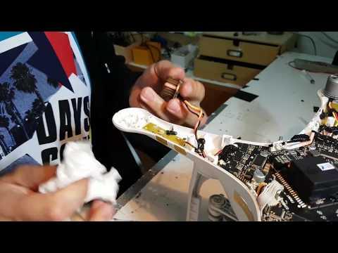 Dji Pantom 3 v2 grease lubrication motor bearings