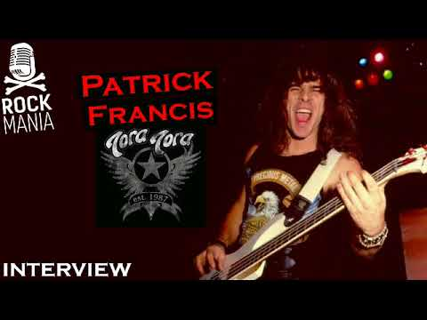 Rock Mania Interview - Patrick Francis (Tora Tora)