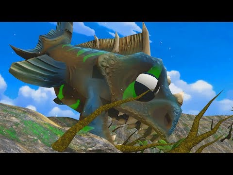 Huge Piranha Raptor Swallows the Entire Swamp! - Feed and Grow Fish Gameplay