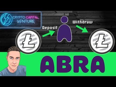 Litecoin Deposits & Withdrawals on Abra - LTC/ABRA Review!