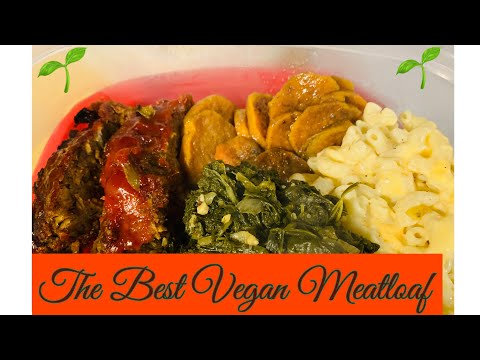 The Best Vegan Meatloaf Recipe/Thanksgiving Meal/Incogmeato