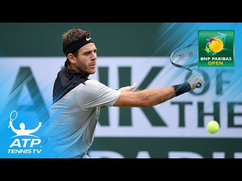 Juan Martin del Potro's 2018 Winning Run: Best Moments & Shots