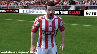 FIFA 13: Stoke City Player Faces