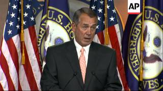 Rep. John Boehner calls President Obama's executive action on immigration a 'violation on the consti