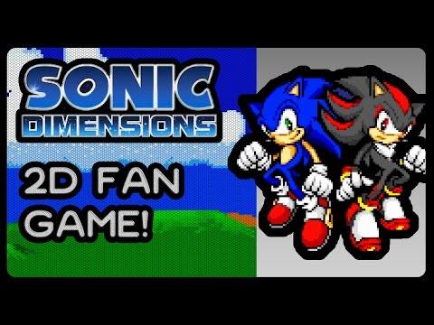 Sonic Dimensions - 2D Fan Game! (4K/60fps)