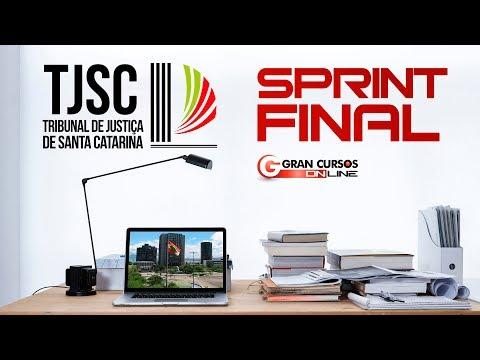 Sprint Final TJSC | Direito Penal e Direito Processual Penal