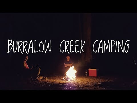 BURRALOW CREEK - CAMPING TRIP  (Blue Mountains near Sydney)