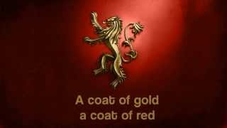 The Rains of Castamere - Sigur Rós (Lyrics)