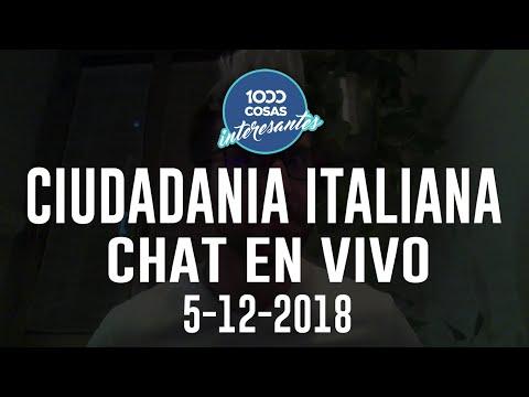5/12/2018 - Chat en Vivo con Seba Polliotto - Ciudadania Italiana