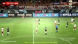 AC Milan vs Perugia 2-0   ----- Full match    Coppa Italia 2015                17-08 2015 HD