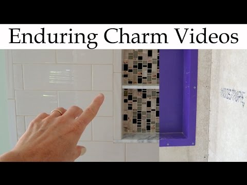 Prepare A Shower Niche For Tile