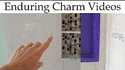 Prepare A Shower Niche For Tile