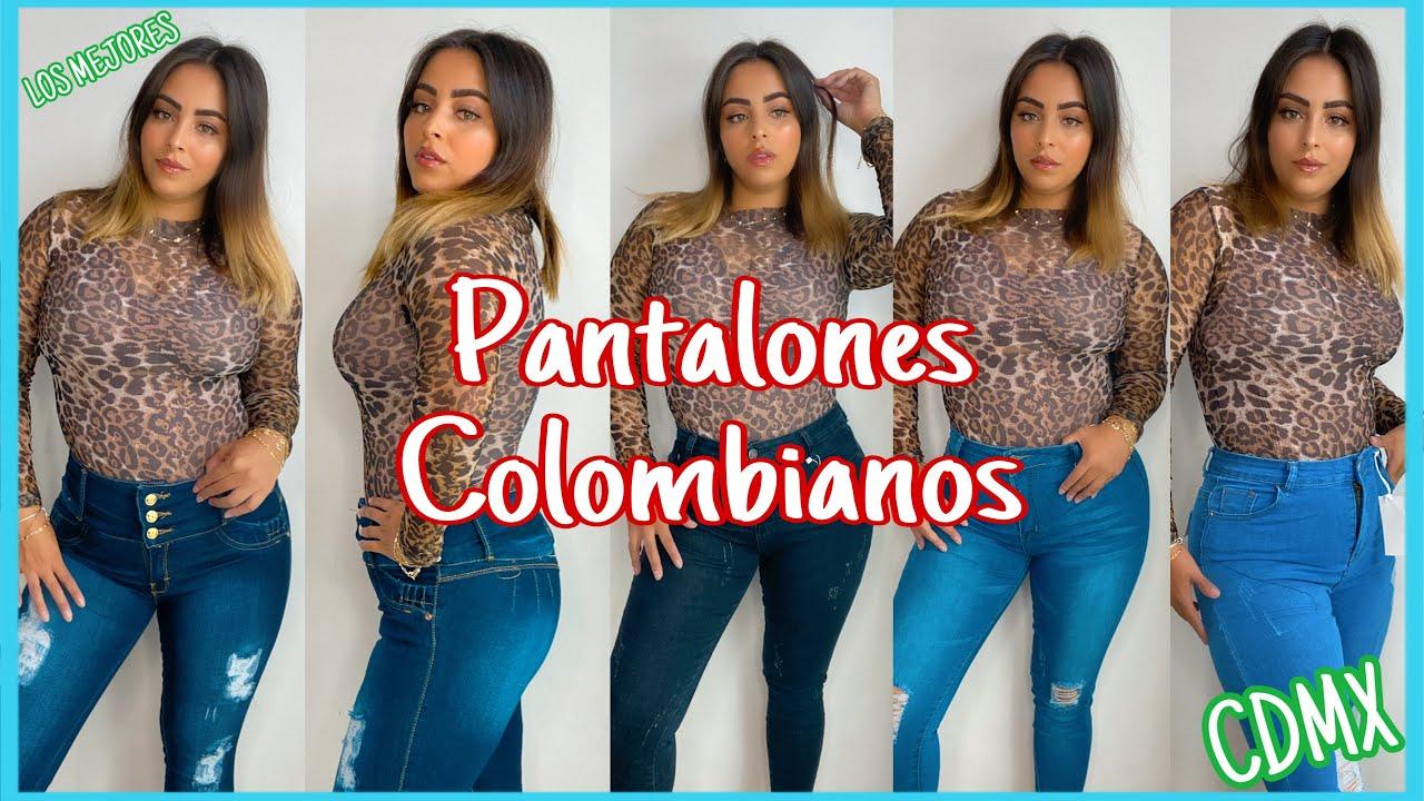 Pantalones De Mezclilla Corte Colombiano Tiro Alto Y De Caballero En Mixcalco Cdmx Economicos Youtube