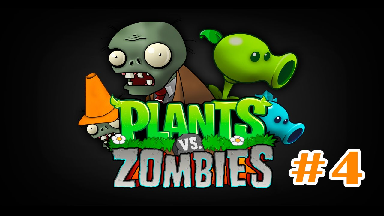 Plants vs Zombies 1-4 cartoon for kids toddlers - YouTube