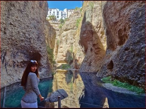 Spain Ronda, Secret Water Mine, 300 Steps to the River!
