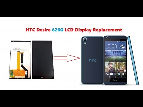 HTC Desire 626G LCD Display Replacement