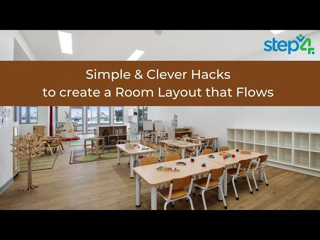 Simple & clever hacks to creating a room layout that flows