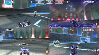 Supersonic Acrobatic Rocket Powered Battle Cars: Red vs Blue (PS3 Multiplayer)