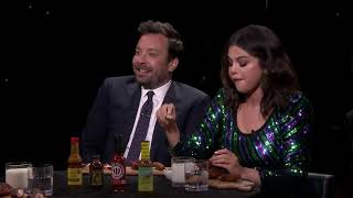 Selena Gomez and Jimmy Cry While Eating Spicy Wings Hot Ones