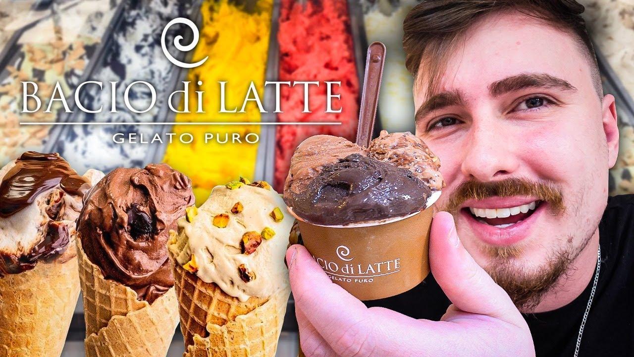 Bacio di Latte - Pedi todos os sabores da melhor sorveteria 🍦🍨